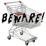 scary shopping cart