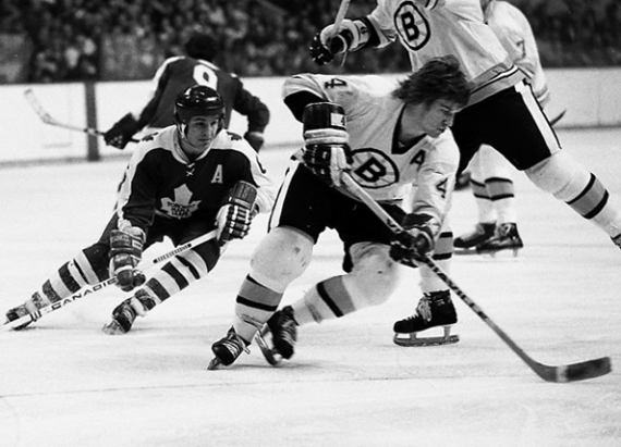 1973...Leafs v Bruins...did it get any better for a 9 year old Canadian boy?