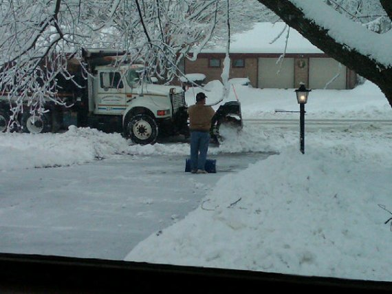 Damn you SnowPlow Man, damn you!...