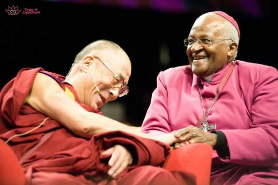 Tutu and Dalai Lama