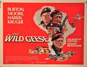 The Wild Geese Half Sheet