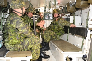 Leaving Command 2009 - CFB Gagetown ALSC